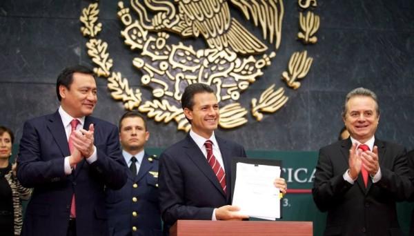Peña Nieto: cuando presentó la iniciativa de Reforma Energética